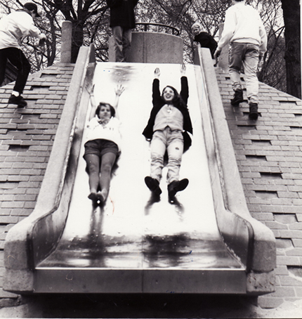 Slide in NYC