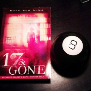 In Which I Part with My Very Last ARC of 17 & GONE for Real, I Mean It, I Can't Keep It Forever (CanI?)