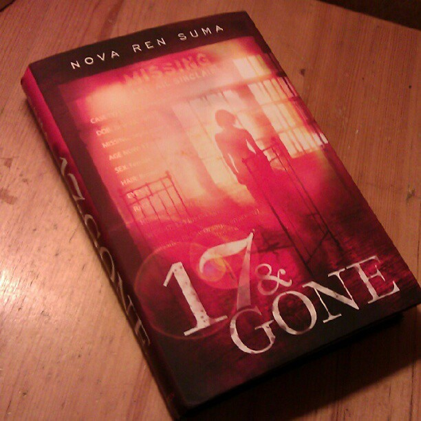 """(I accosted the UPS man for this yesterday! It's an advance hardcover of the book... And it's beautiful. The """"missing poster"""" text is laminated and catches the light... this picture doesn't capture how great this looks!)"""