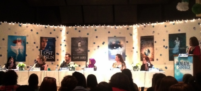 The panel at the Irving Public Library in Texas. (Photo by OhMagicHour.)