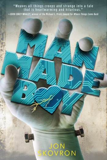 MAN MADE BOY is on sale October 3!