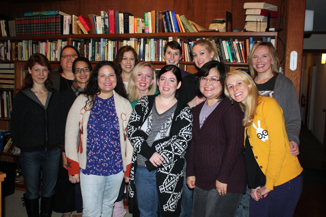 14 djerassi group photo