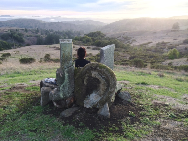 The kind of quiet I'm craving. (Taken at the Djerassi Resident Artists Program, when I was teaching a workshop earlier this year.)