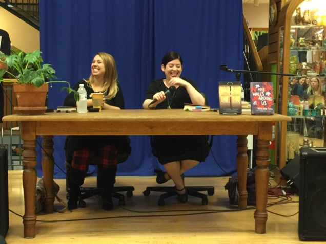 Book event at BookPeople in Austin with my friend and fellow author, Suzanne Young (look at how much fun we had!)...