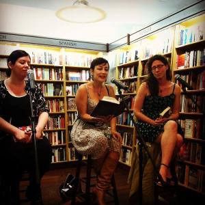 A YA Trio event at McNally Jackson with darlings Maria Dahvana Headley and Camille DeAngelis