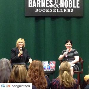 Interviewing Kim Liggett at her launch event for BLOOD AND SALT