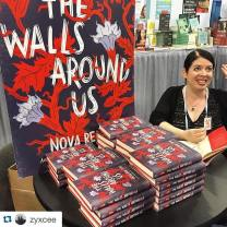 Signing books at my first-ever ALA conference