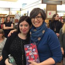Here I am with my incredible Algonquin Young Readers editor, Elise Howard!