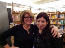 My first-ever launch party... and I was interviewed by one of my favorite authors (and a good friend), Libba Bray